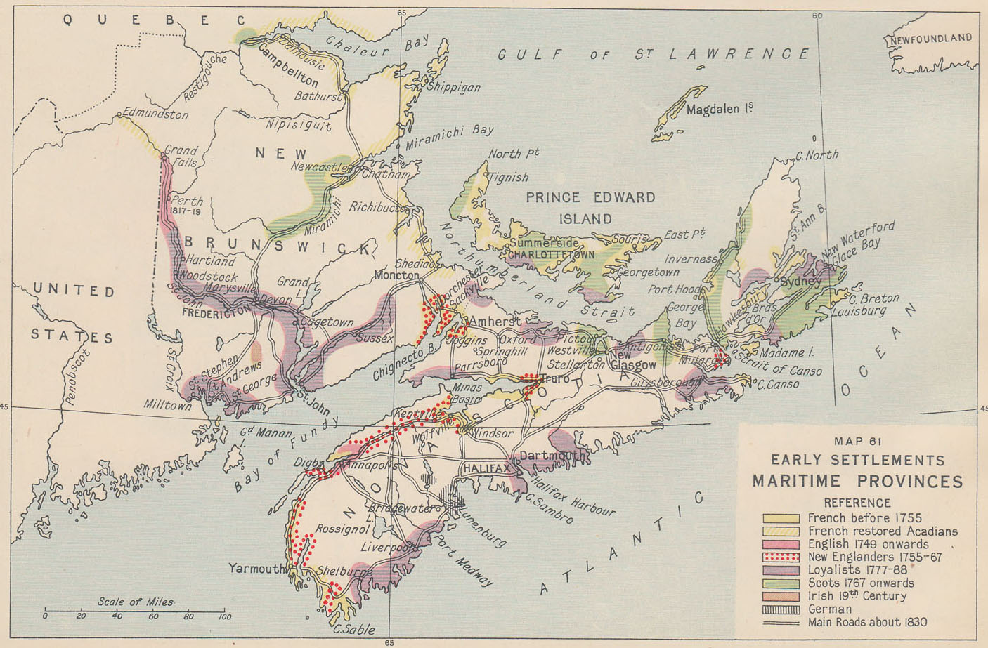 settlement in the canadian maritime provinces essay The first permanent british settlement on the african to discuss the possibility of a union of the maritime provinces history of canada canadian genealogy.