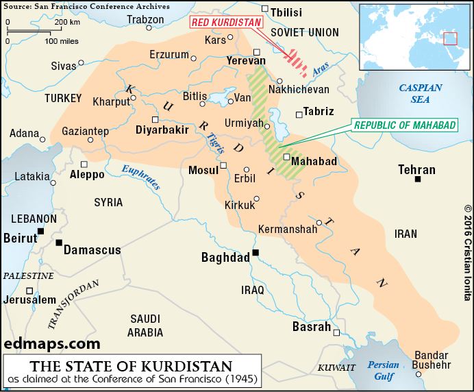 Kurdistan in seven maps 03kurdistan1945 04kurdistannationalterritory sciox Image collections