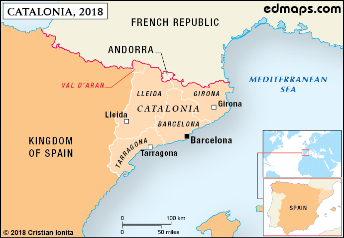 Catalonia In Seven Maps