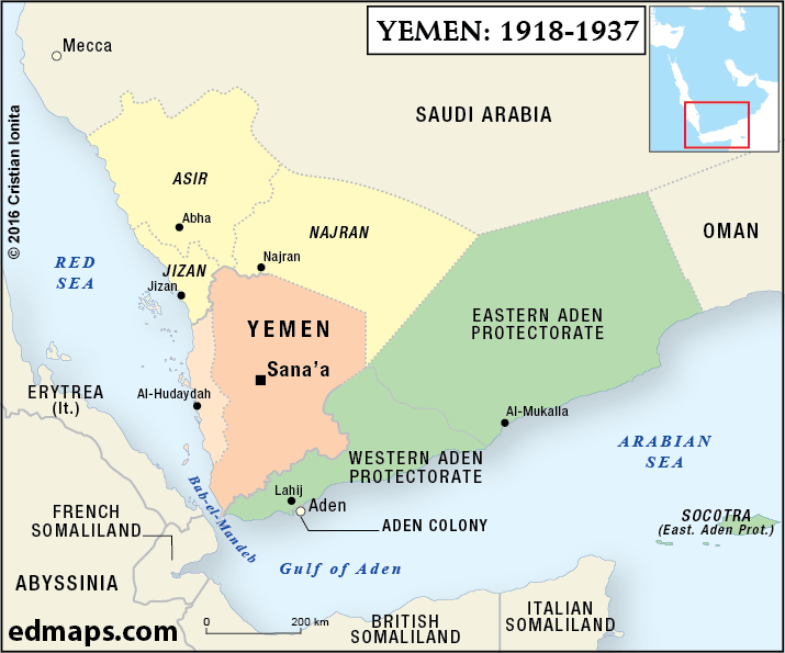 Yemen Crisis in Five Maps