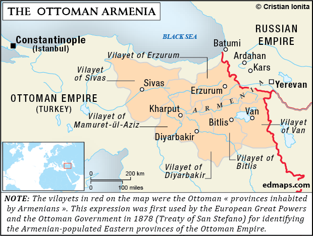 Armenian Question in Seven Maps
