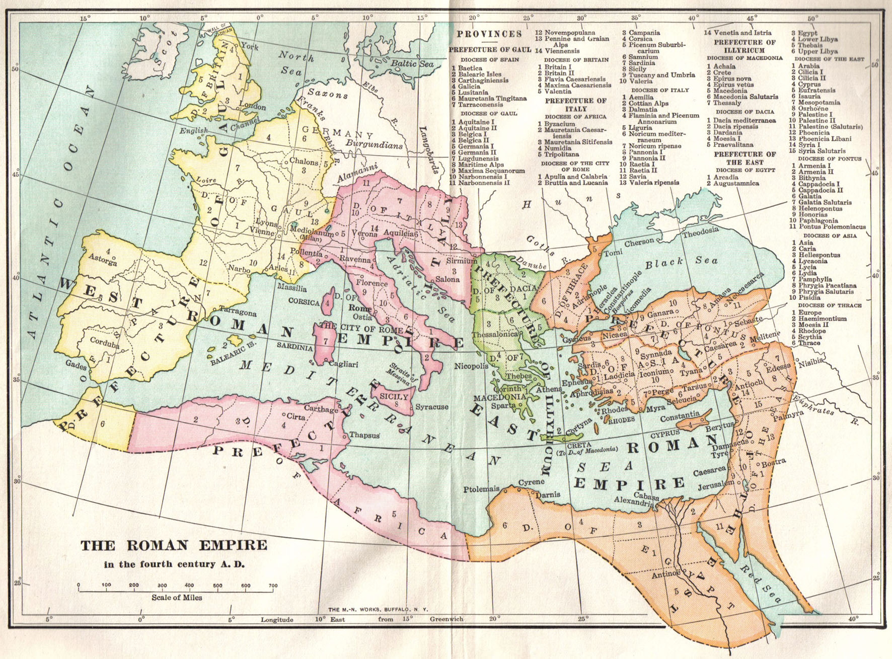 A SURVEY OF ANCIENT HISTORY TO THE DEATH OF CONSTANTINE